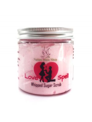 Love Spell Whipped Sugar Scrub Soap 5 oz