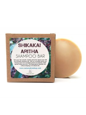 Shampoo Bar Shikakai And Aritha (Soapnut) Organic Shampoo Bar